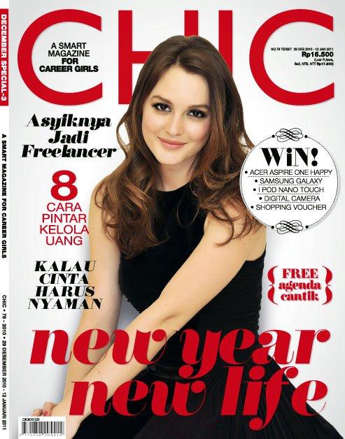 Majalah Lifestyle Untuk Wanita Karir Chic