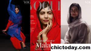 Malala Yousafzai Tampil Pada Sampul Vogue Menggunakan Kerudung